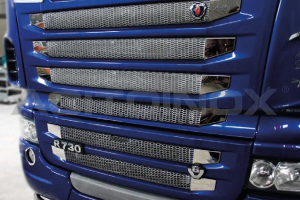 FRONT GRILL SIDE COVER | SCANIA New R, Streamline