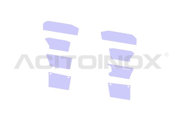 Protezione pedaliera modello pieno | Adatto per Scania Serie S - NG
