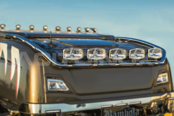Barra portafari – modello piccolo | Adatto per Scania Serie R - NG con spoiler grande