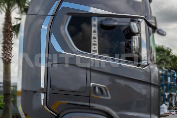 Coppia profili laterali finestrino e spoiler | Scania S