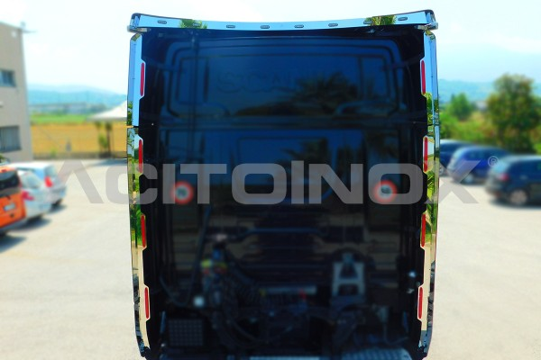 Profili spoiler posteriore + fascia centrale | Adatto per Scania Serie S - NG