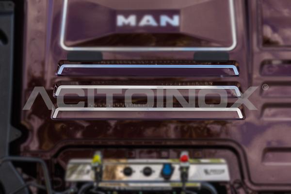 Rear cab profiles   Man TGX Euro 6