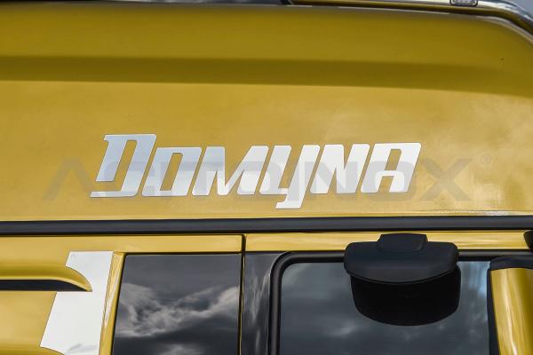 Scritta Domyna   Man TGX Euro 6