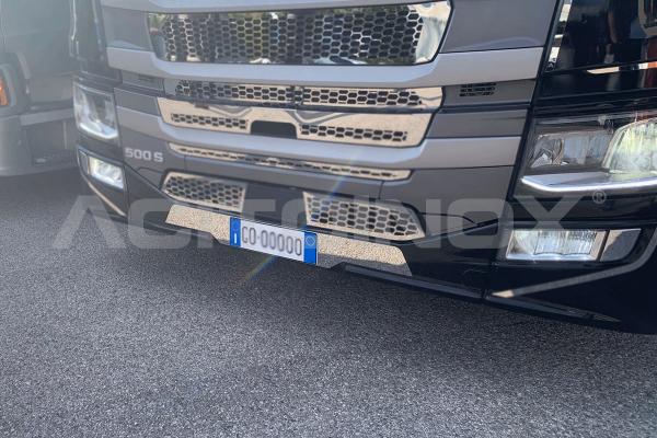 Applicazione porta targa paraurti piccolo   Adatto per Scania NG- S-R