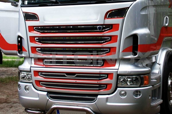 Applicazione cornici mascherone | Adatto per Scania New R e Streamline