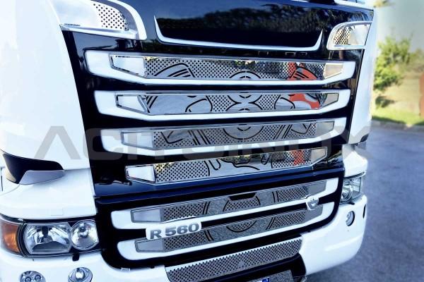 "Mascherino ""Piston"", paraurti grande | Scania New R, Streamline"