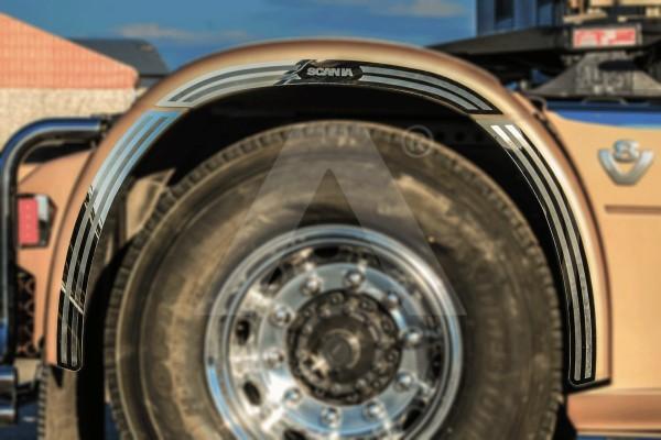 Applicazione parafango posteriore | Adatto per Scania R, New R, Streamline