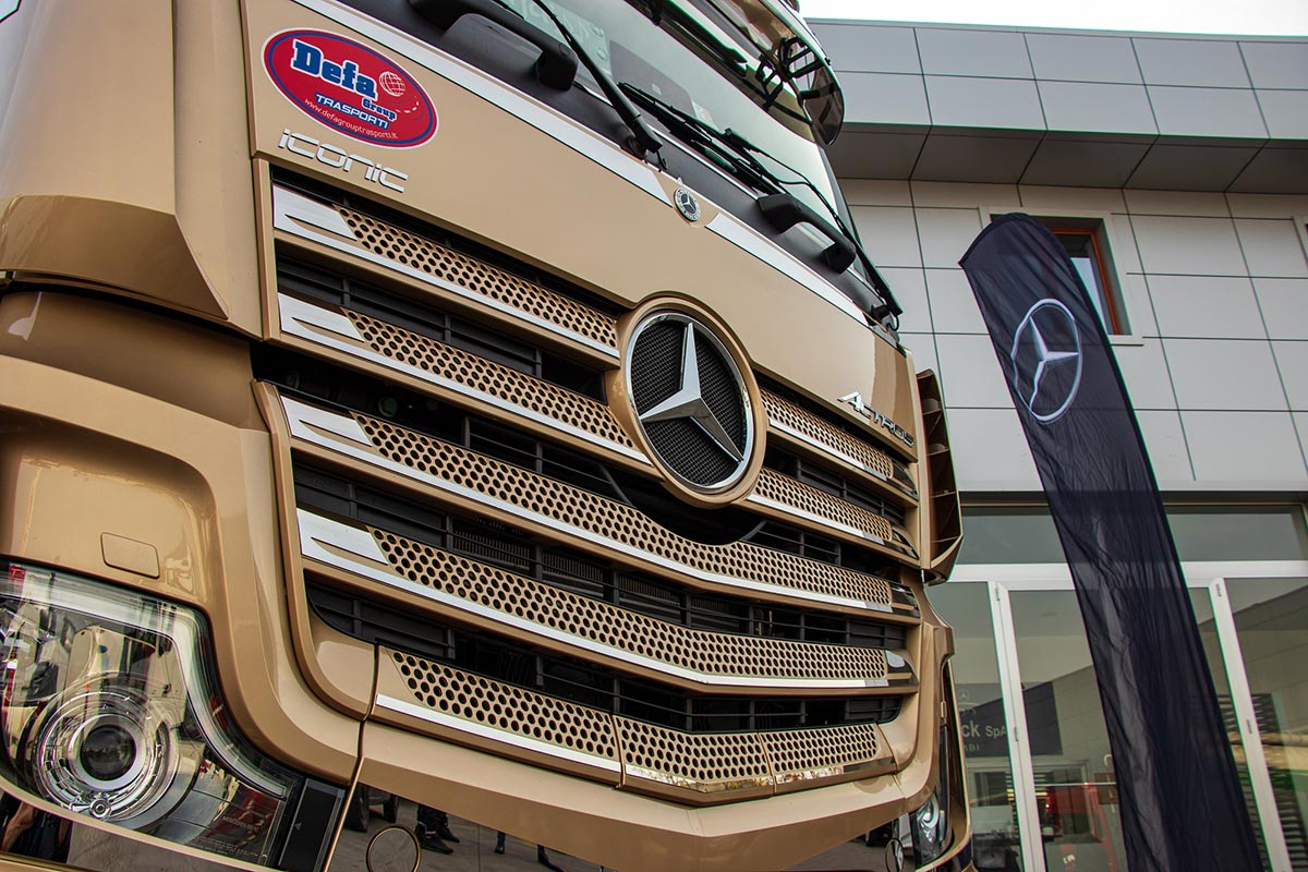 mercedes actros iconic special edition 2020