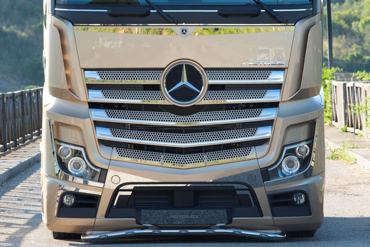 mercedes actros iconic edition