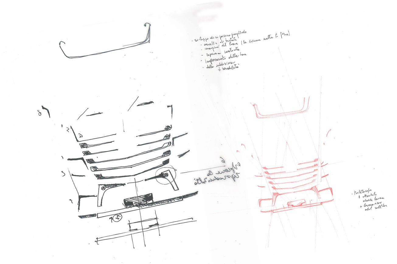 progettazione frontale camion