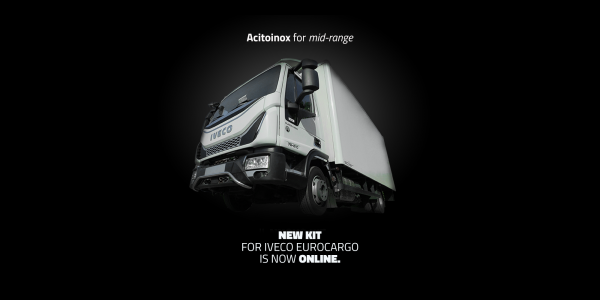 Steel for the Eurocargo latest evolution of Iveco's mid-range